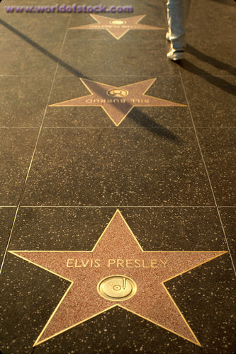 Where is the star for Elvis Presley located On The Walk Of ... on star home map, famous star map, red star map,